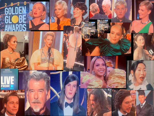 Golden Globes Hair A Wash Out - 2020