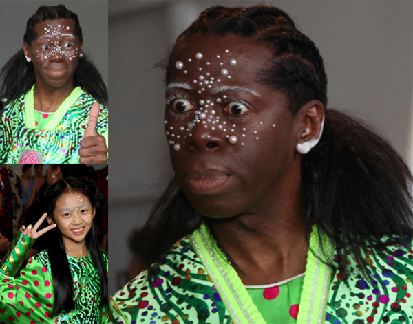 Pearls Decorate Faces @ NYFW S/S - 2020