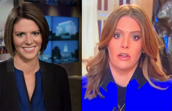 Kasie Hunt MSNBC Hair Then & Now - 2020