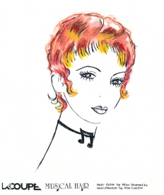 10  Musical Hair - Waif Sketch 1992