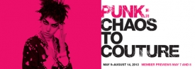 1  Punk: Chaos to Couture - 2013