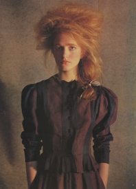 10  Maria Von Hartz, British Vogue - 1983