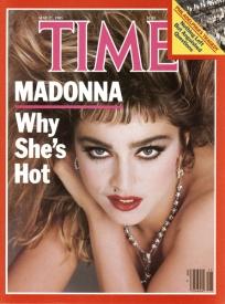 16  Madonna, Time - 1985