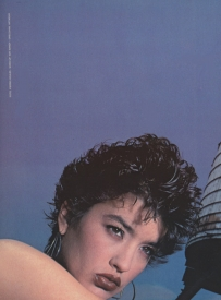 28  Janice Dickinson, Italian Vogue - 1982