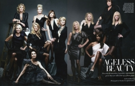 34  Ageless Beauties, Harper's Bazaar - 2012