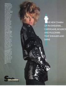 14  Christie Brinkley, Harper's Bazaar - 1981