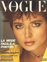 4   French Vogue Isabella Rossellini - 1982