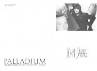 3  John Sahag Palladium Invite - 1986