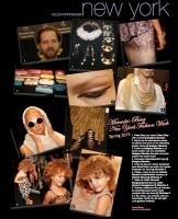 27  Collage Page in Peluquerias Magazine - 2015