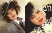8A   Isabella Rossellini US Vogue - 80s