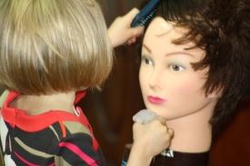 7   Three Year Old Future Hairdresser