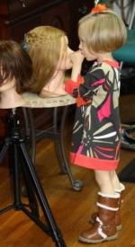 6    Three Year Old Future Hairdresser