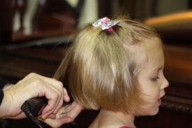 5   Three Year Old Future Hairdresser