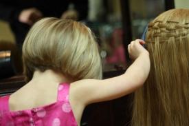 4    Three Year Old Future Hairdresser